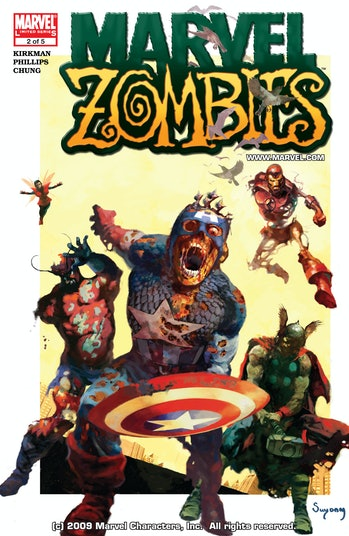 Marvel Zombies Captain America