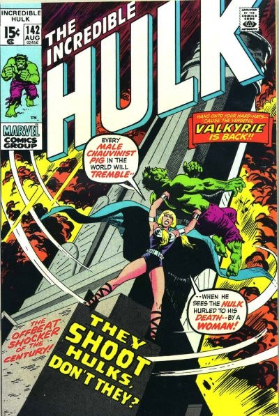 Incredible Hulk 142