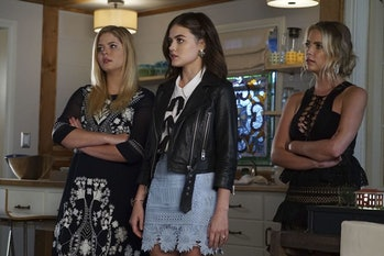 Ashley Benson, Lucy Hale, andSasha Pietersein 'Pretty Little Liars'