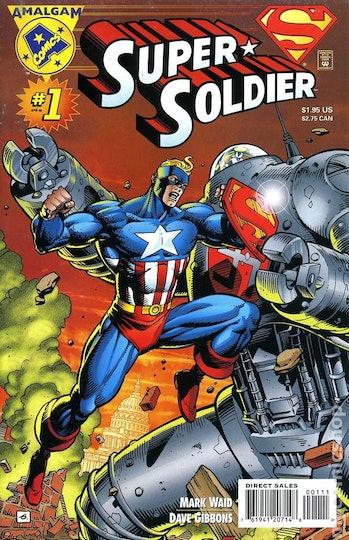 Amalgam Marvel DC Captain America
