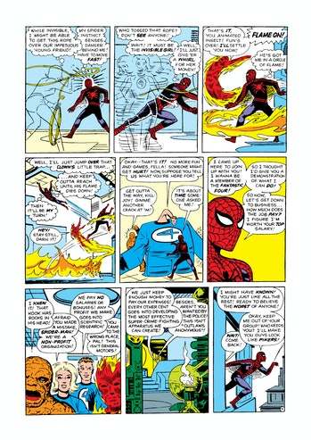 Fantastic Four Spider-Man