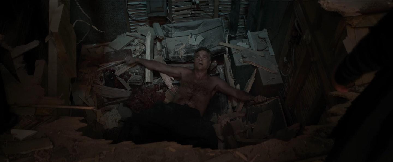 Did he crash through the Sanctum Sanctorum?
