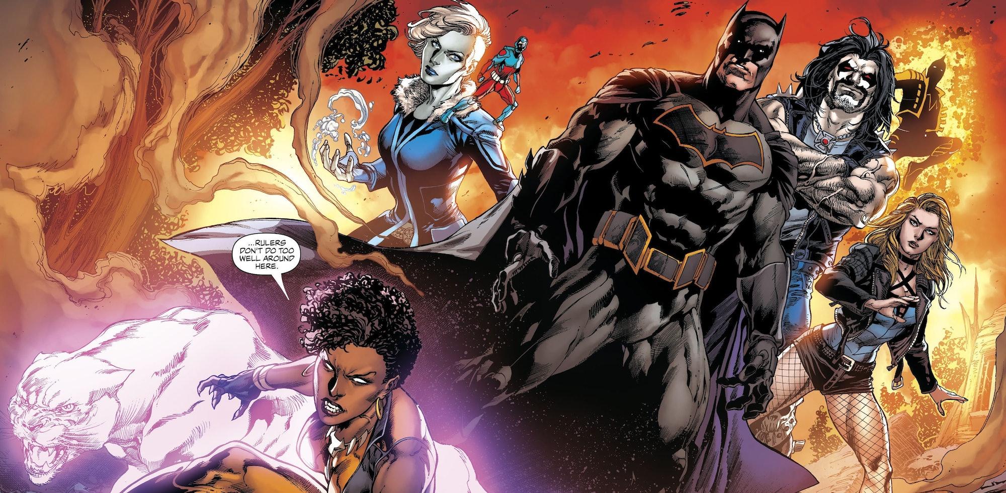 Justice League of America Arrowverse