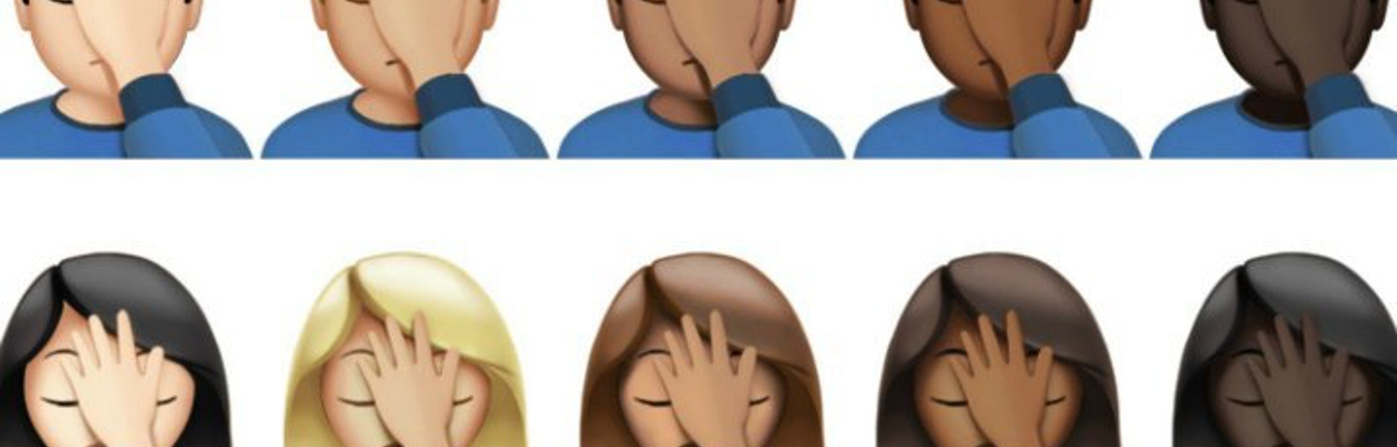 The Facepalm The Newest Emoji Dates Back Thousands Of Years