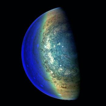 Jupiter's twilight zone.