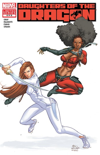 Daughters of the Dragon Luke Cage Marvel