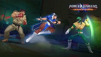 Power Rangers Legacy Wars Street Fighter