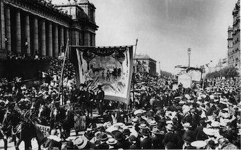 Labor Day Melbourne, Australia circa 1900