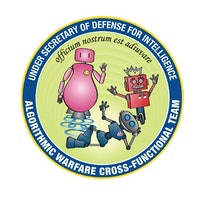 DoD's Cheery 'Project Maven' Seal Features Smiling Warfare Robots