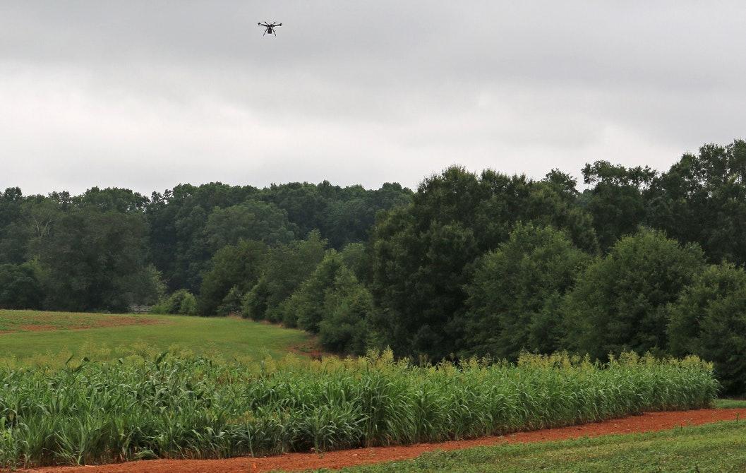 Carnegie Mellon University FarmView field drone