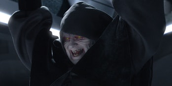 Star Wars the Rise of Skywalker Palpatine Snoke