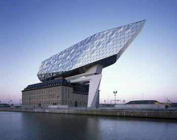 port authority building Belgium