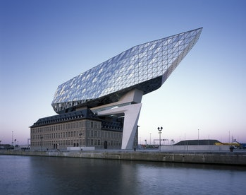 port authority building Belgium