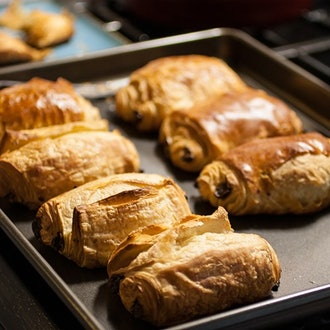 Chocolate Butter Croissants