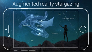 Augmented reality stargazing, as seen in the Star Walk 2 app.