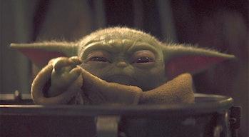 baby yoda force chokes