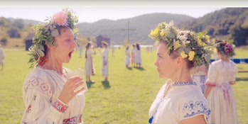 Florence Pugh (Dani) in A24's 'Midsommar'