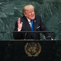 Donald Trump's UN Insult Uses Elton John's Classic Sci-Fi Song