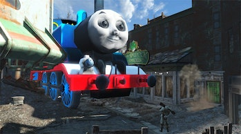 Thomas the Tank Engine in Fallout? There's a mod for that.