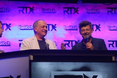 RTX Andy Serkis Rooster Teeth