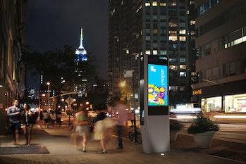 LinkNYC WiFi Manhattan free public WiFi
