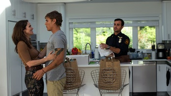 Justin Theroux, Amy Brenneman, and Chris Zylka in 'The Leftovers'