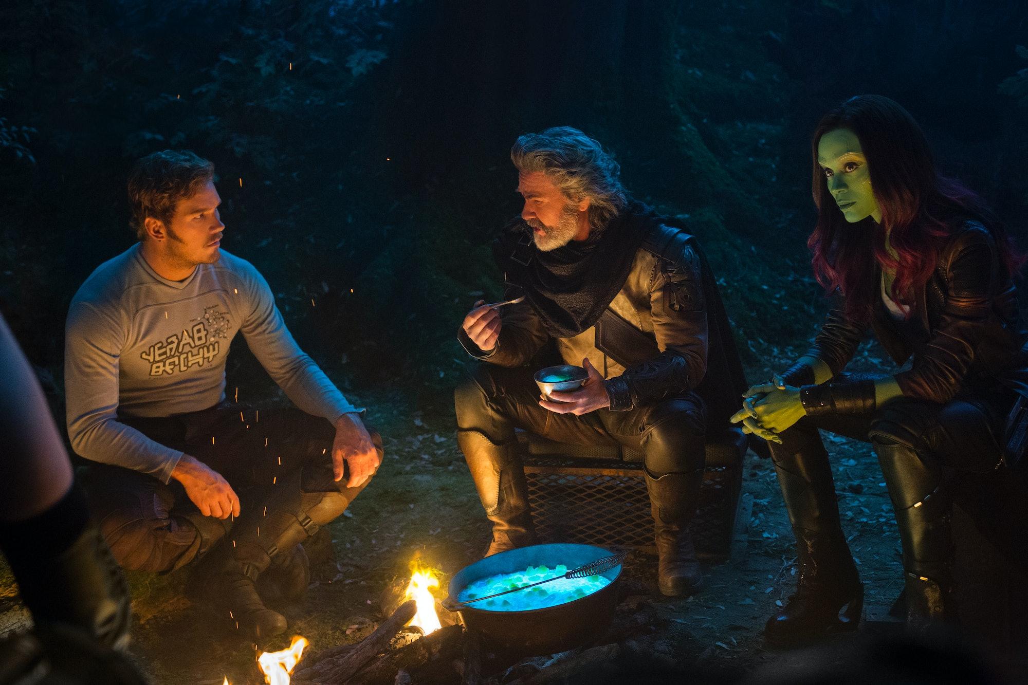 Guardians of the Galaxy Vol 2 Kurt Russell
