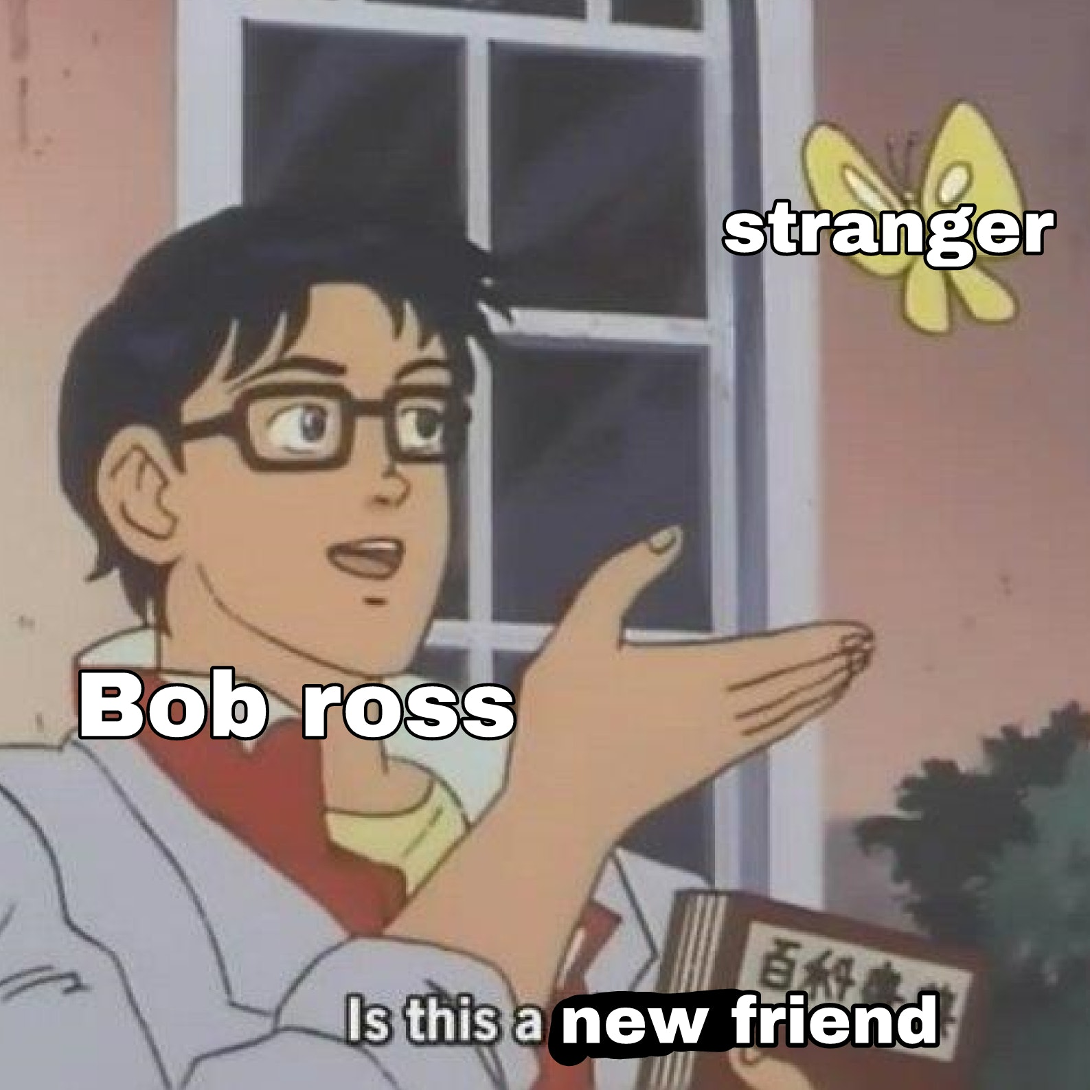 friend pigeon meme