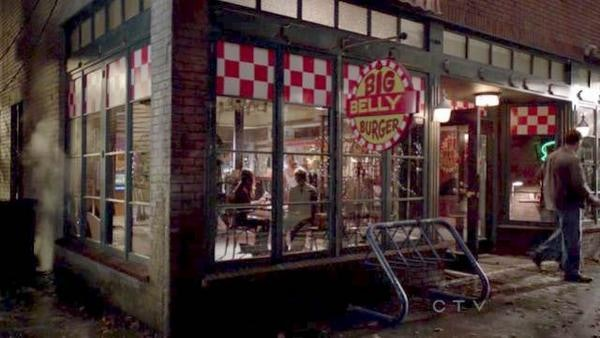 Big Belly Burger, coming soon to a city near Supergirl.