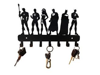 HeavenlyKraft Super Heros Wall Mounted Metal Key Holder