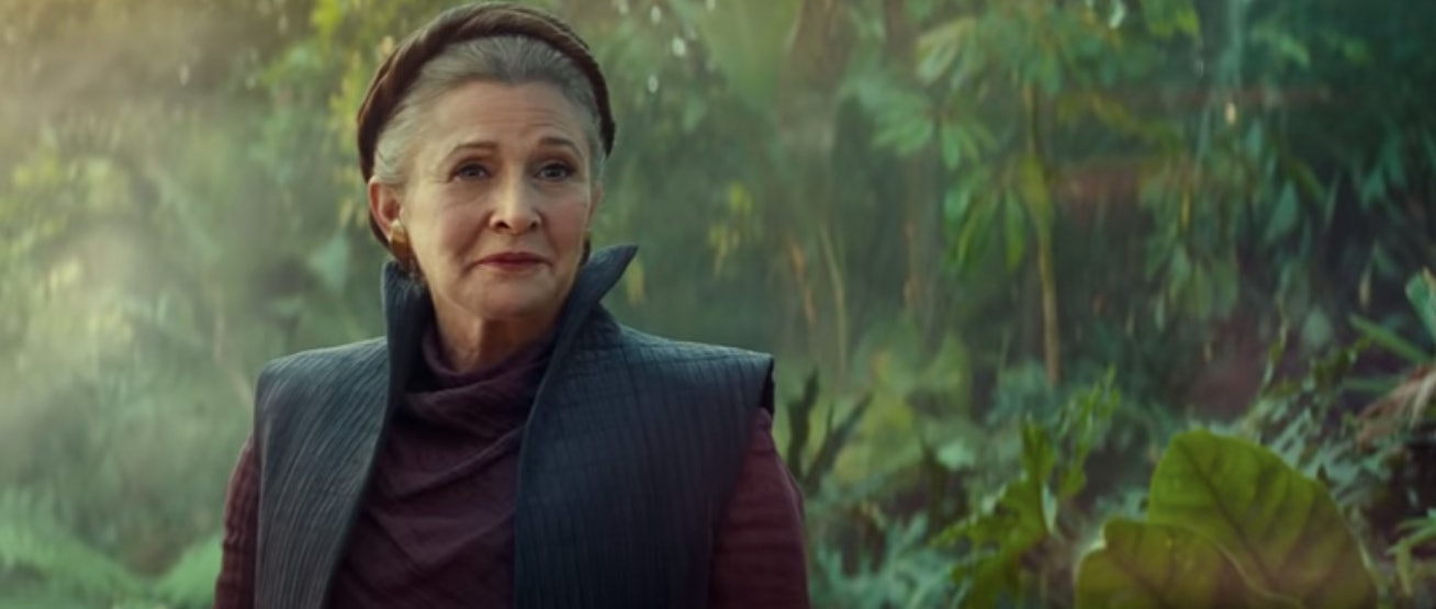 leia rey the rise of skywalker