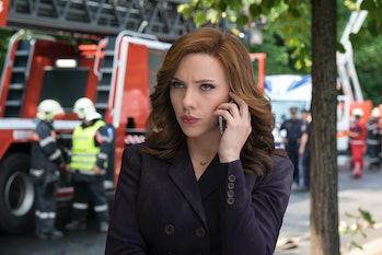 Captain America Civil War Black Widow Scarlett Johansson