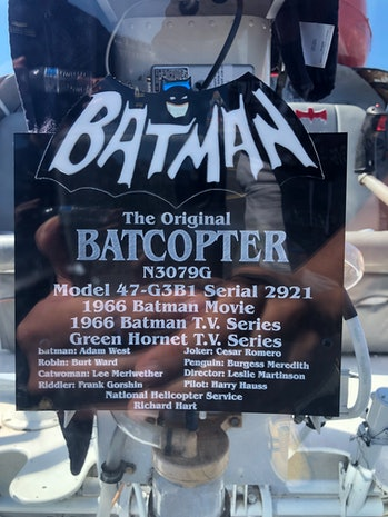 Batman Batcopter