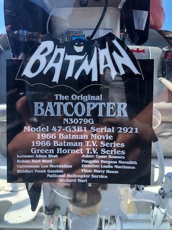 Batman Batcopter
