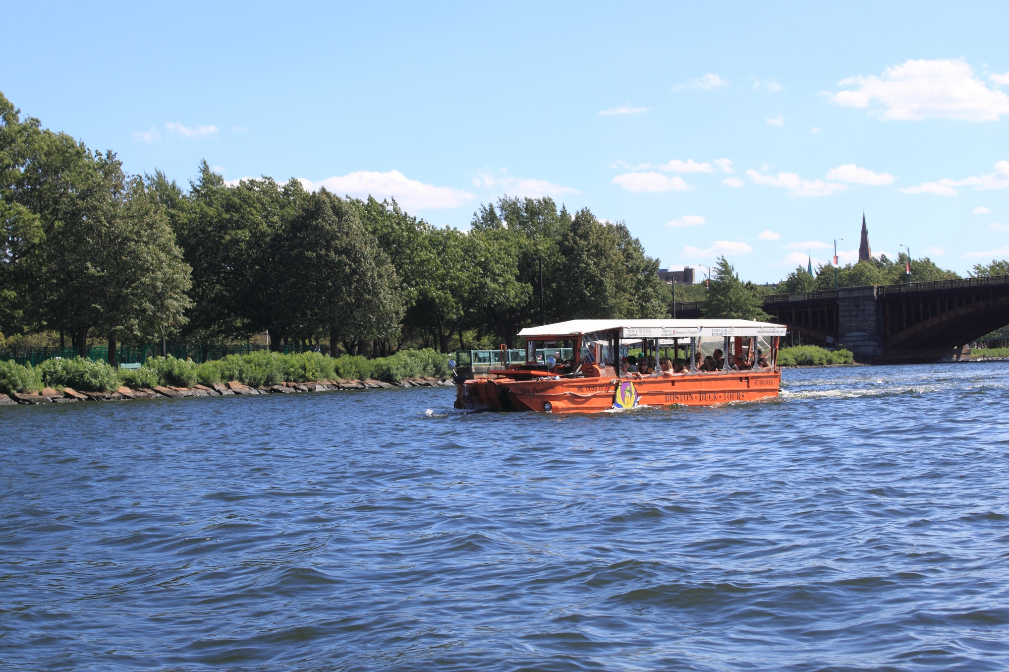duck boat tour