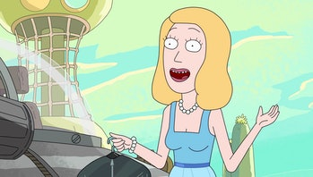 Beth in the Season 2 finale.