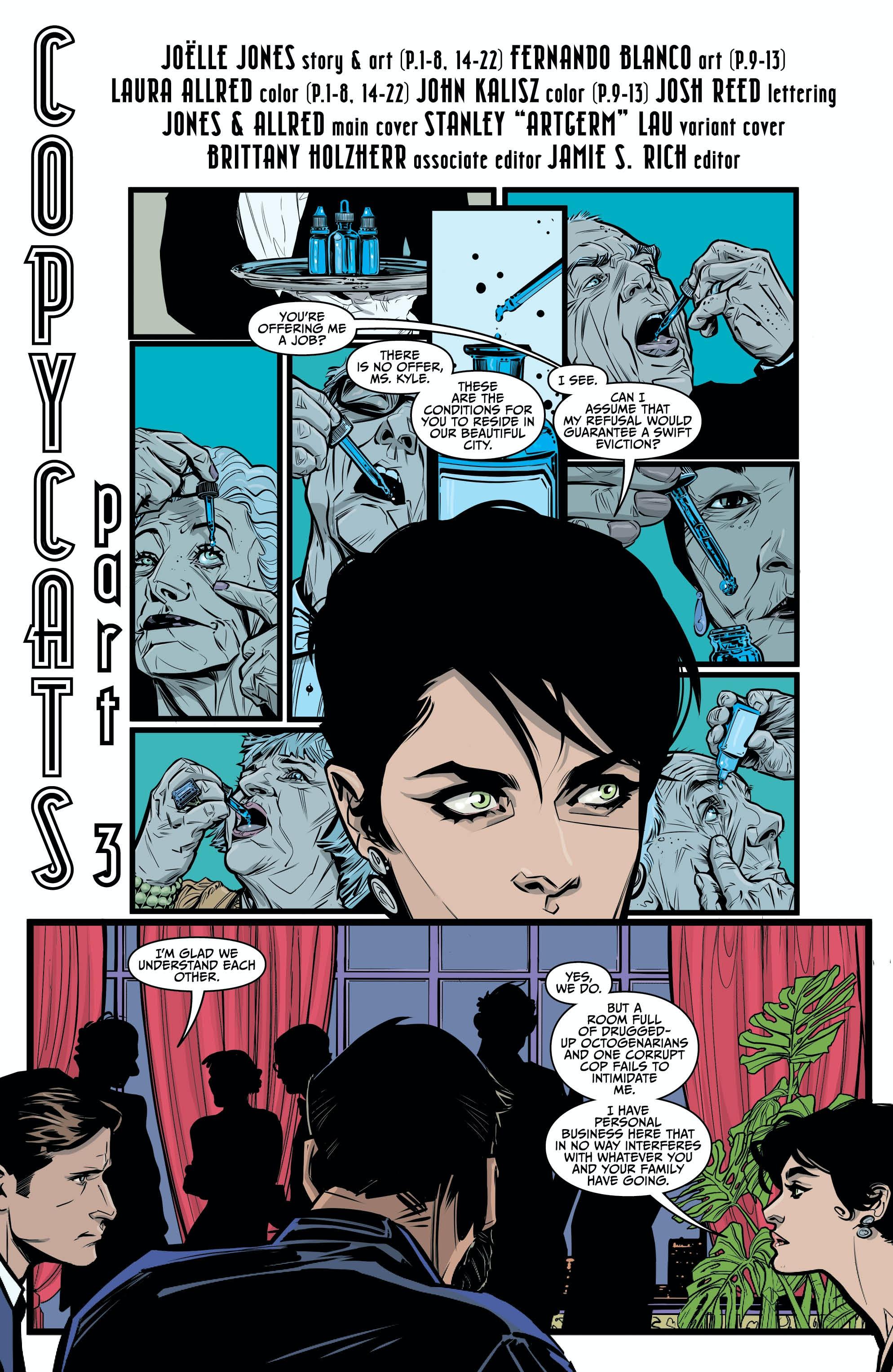 Catwoman Joelle Jones