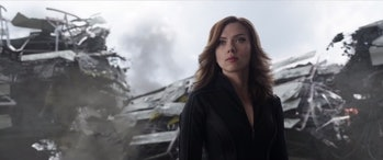 Black Widow MCU Civil War