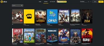 dlive streaming site video games