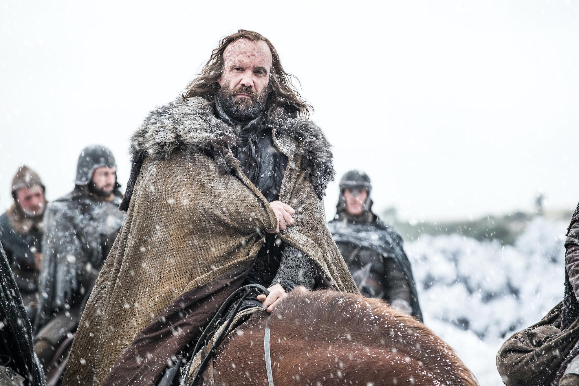 Rory McCann in 'Game of Thrones' Season 7