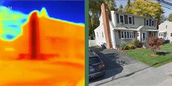 heat signature home dump truck MIT research