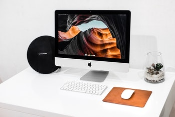 imac apple desktop computer
