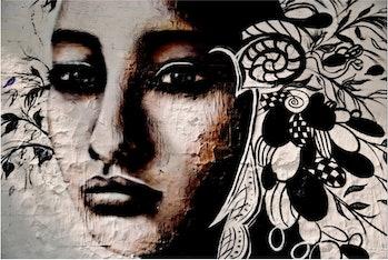 Screenshot of our doppelgänger,street art created byBuenos Aires artistLILIWENN