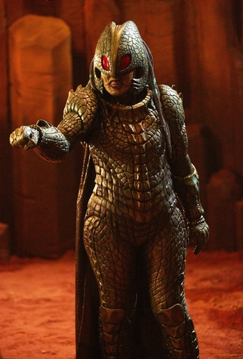 "The Empress of Mars is certainly a ""new kind of Ice Warrior."""
