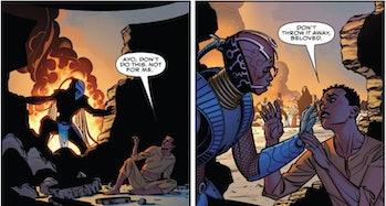 Dora Milaje in Black Panther #1
