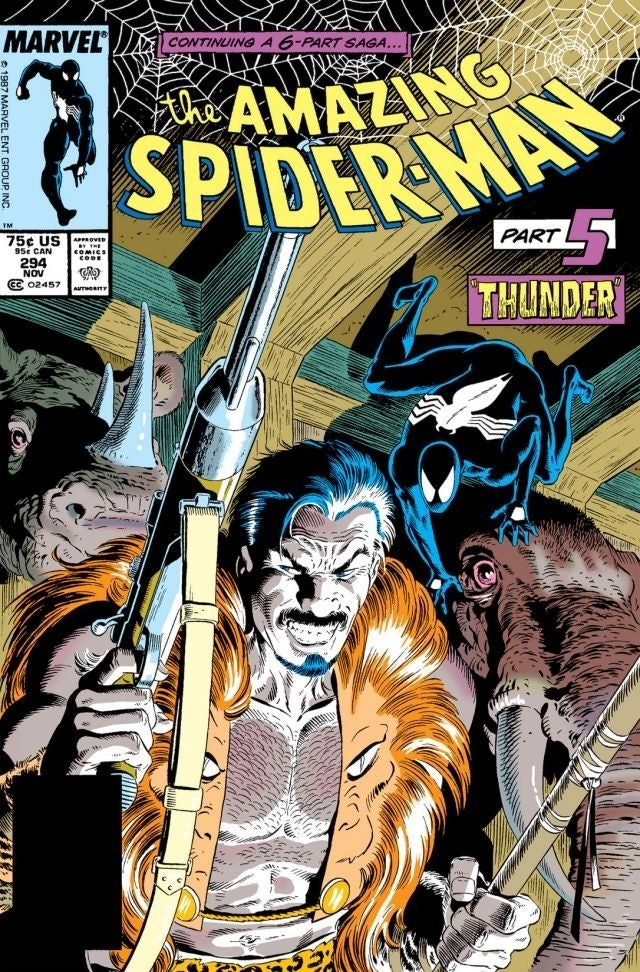 kraven the hunter spider-man
