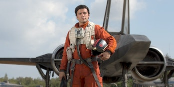 Oscar Isaac plays Poe Dameron in the new trilogy of Star Wars movies, and he'll voice the same character in 'Star Wars Resistance'.