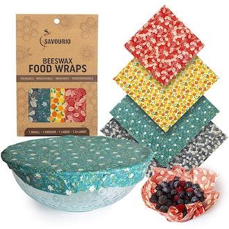 Savourio Reusable Beeswax Food Wrap
