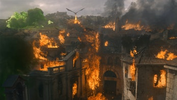 Dany and Drogon destroying King's Landing