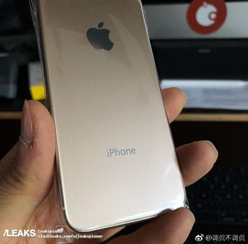 iphone se 2 leak back panel rumor